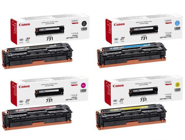 Toonerkassetid|Kontoritarbed>lindid)>Täitmise tarvikud>Tooner täitmiseks - Canon CRG-731 (6270B002