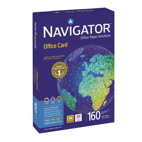 Koopiapaber Navigator Office Card A4 160g/m2