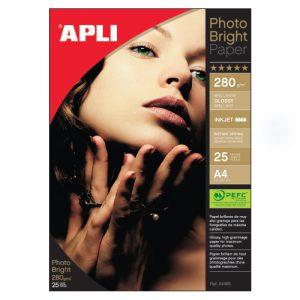 Fotopaber Apli Photo Bright 280g/m2