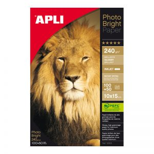 Fotopaber Apli Photo Bright 10x15 240g/m2