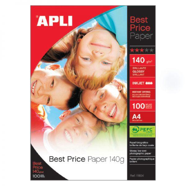 Fotopaber Apli Best Price A4 140g/m2