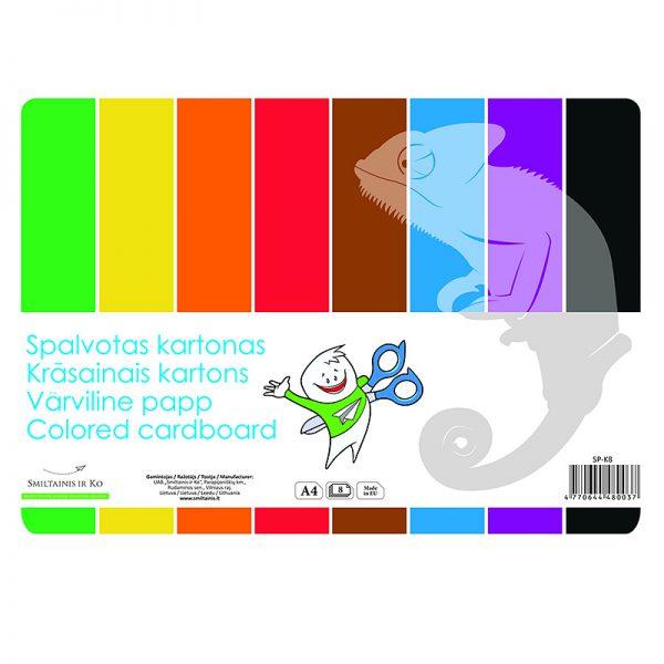 Värviline kartong SMLT A4