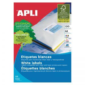 Etiketid Apli ILC iseliimuvad 70 x 35mm 100l/pk - Apli