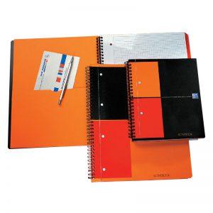 Spiraalköitega kaustik Oxford Activebook A4+
