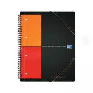 Spiraalköitega kaustik+kummik.mapp Oxford Meetingbook