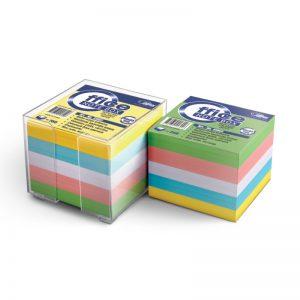 Märkmepaber Forpus 85x85mm täiteplokk 800 värvilist lehte - Forpus