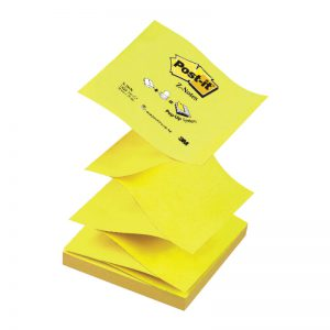 Z-märkmepaber  Post-it 76x76mm kollane MB - 3M
