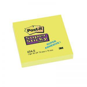 Märkmepaber Post-It Super Sticky 76x76 mm