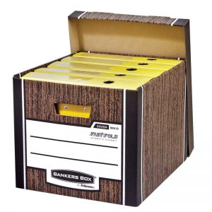 Arhiivikast Fellowes Woodgrain