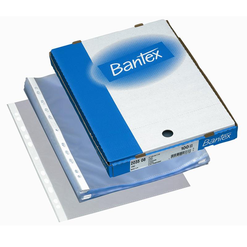 d96b8b3b31c Köidetavad kiletaskud Bantex A4, 60mic, matt, 100tk - Kasseti Expert