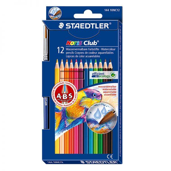 Akvarell-värvipliiatsid Staedler Noris Club  12 värvi - Staedtler