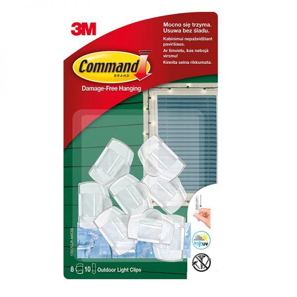 Kinnitusriba 3M Command 17017AW S suurus