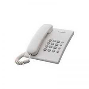 Telefon Panasonic KX-TS500FXW valge - Panasonic