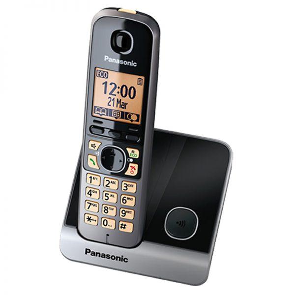 Juhtmeta telefon Panasonic KX-TG6811FXB DECT - Panasonic