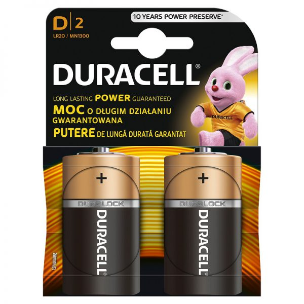 Patareid Duracell Copper&Black D LR20 (2 tk) - Duracell