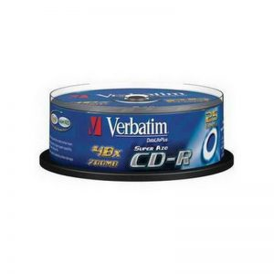 CD-R Verbatim 700MB 52x Extra Protection 10-ne torn - Verbatim