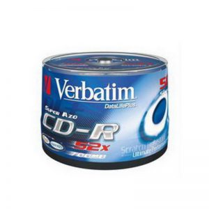 CD-R Verbatim 80min/700MB 52X