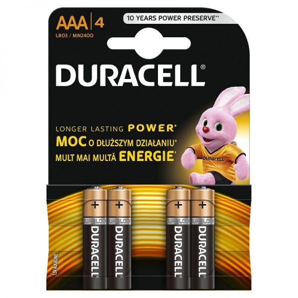 Patarei Duracell MN 2400 Basic AAA (LR03)