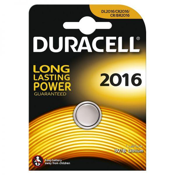 Patarei Duracell DL 2016