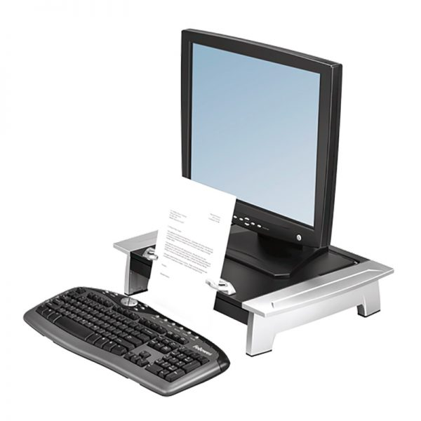 Monitorialus Fellowes Office Suites™ Monitor Riser Plus - Fellowes