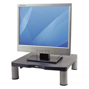 Monitorialus Fellowes Standard Monitor Riser Graphite - Fellowes