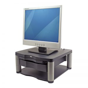 Monitorialus Fellowes Premium Monitor Riser Plus Graphite - Fellowes