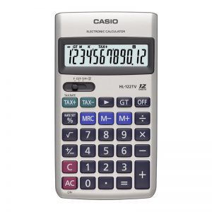 Kalkulaator CASIO HL-122TV-S-EH - Casio