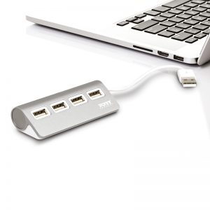 USB-hub Port Designs 4x2.0 - PORT