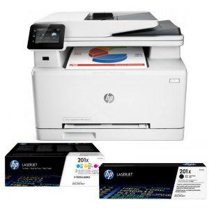 Multifunktsionaalne laserprinter HP LaserJet Pro MFP M130nw + tooner CF217A - HP