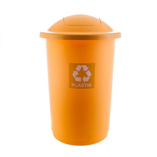 Prügikast TOPBIN plastjäätmetele  50L