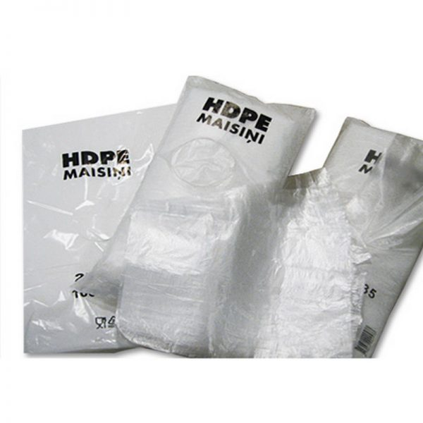 Kilekott HDPE 25x40 6 mic