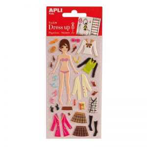 Kleepsud APLI 3D Dress Up