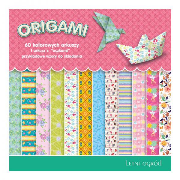 Origami paber Dan-Mark Summer Garden