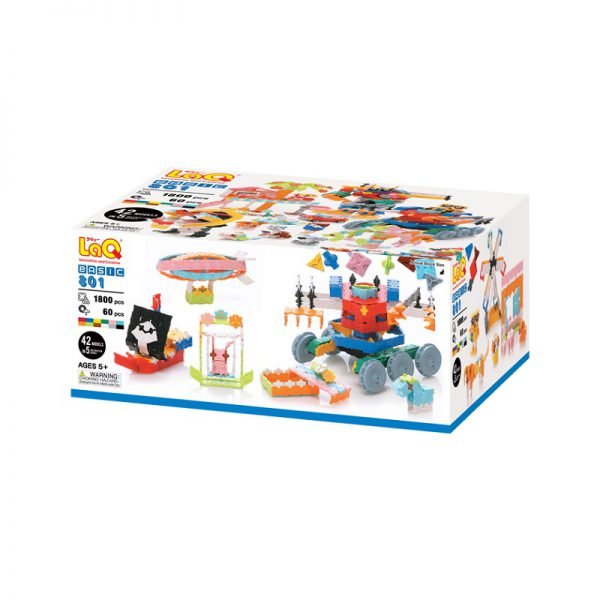 Arendav mänguasi Jaapani konstruktor LAQ BASIC 801