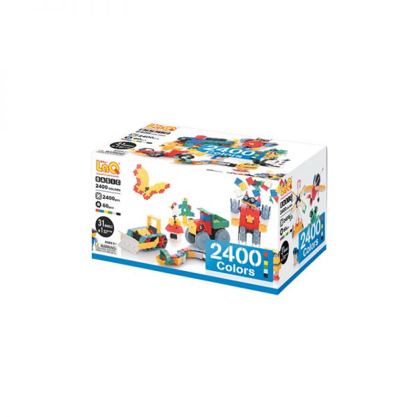 Arendav mänguasi Jaapani konstruktor LAQ Basic 2400 colors