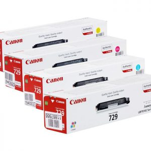 Toonerkassetid - Canon CRG-729 must kassett originaal