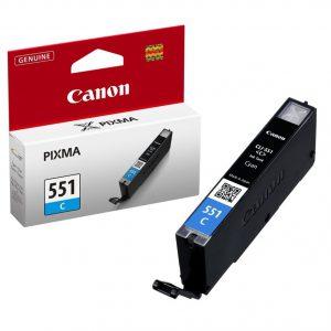 Tindikassetid - Canon CLI-551 cyan (sinine) tindikassett