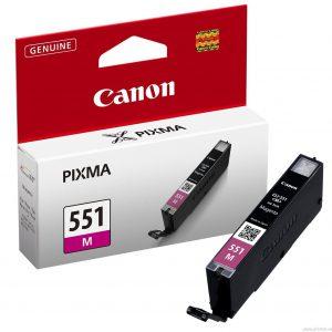 Tindikassetid - Canon CLI-551 Magenta (punane) tindikassett