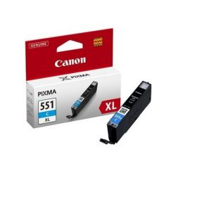 Tindikassetid - Canon CLI-551XL cyan (sinine) tindikassett