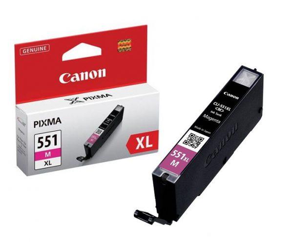 Tindikassetid - Canon CLI-551XL Magenta (punane) tindikassett