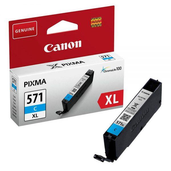 Tindikassetid - Canon CLI-571XL cyan (sinine) tindikassett