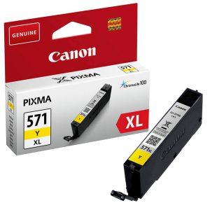 Tindikassetid - Canon CLI-571XL Kollane tindikassett