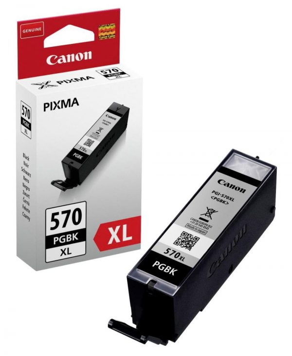 Tindikassetid - Canon PGI-570PGBK XL must tindikassett