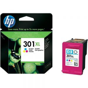 Tindikassetid - HP 301XL (CH564E) värviline tindikassett