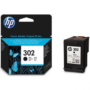 Tindikassetid - HP 302 (F6U66AE) must tindikassett