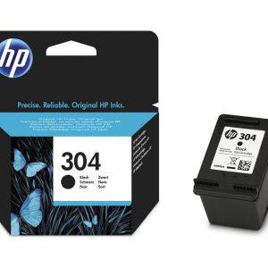 Tindikassetid - HP 304 (N9K06AE) must tindikassett