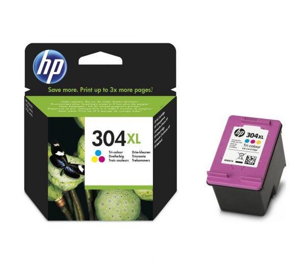 Tindikassetid - HP 304XL (N9K07AE) värviline tindikassett