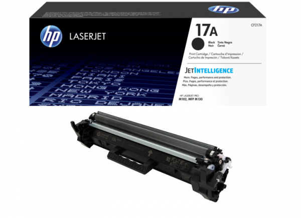 Toonerkassetid - HP 17A (CF217A) must toonerikassett