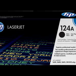 Toonerkassetid - HP 124A (Q6000A) must toonerikassett