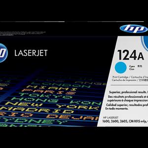 Toonerkassetid - HP 124A (Q6001A) tsüaan toonerikassett